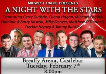 Midwest Radio present a 'Night with the Stars'!