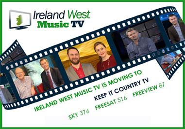 Ireland West Music TV Schedule