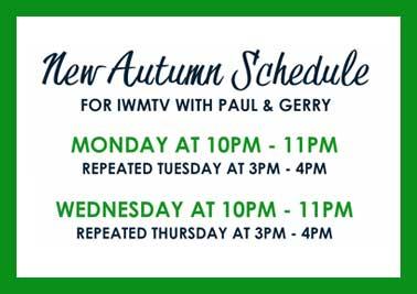 New Autumn TV Schedule